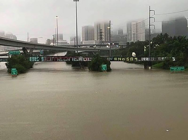 FILE PHOTO - Hurricane Harvey has devasted large parts of Harris County, Texas.