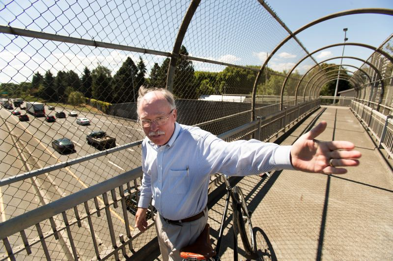 PORTLAND TRIBUNE: JAIME VALDEZ - Joe Cortright, a Portland economist, is leading the charge to block a proposed freeway expansion in the Rose Quarter.