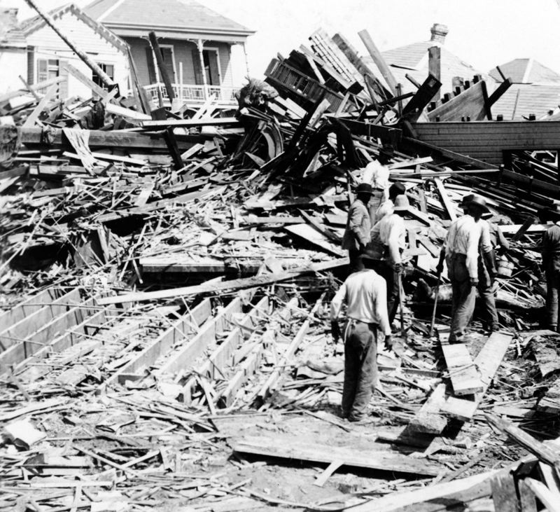CONTRIBUTED - The death toll for the 1900 hurricane is estimated at 6,000. That's because forecasting didn't exist (at least, not as we know it today). A day before the storm surge swamped the low-lying island, people didn't know it was even coming.