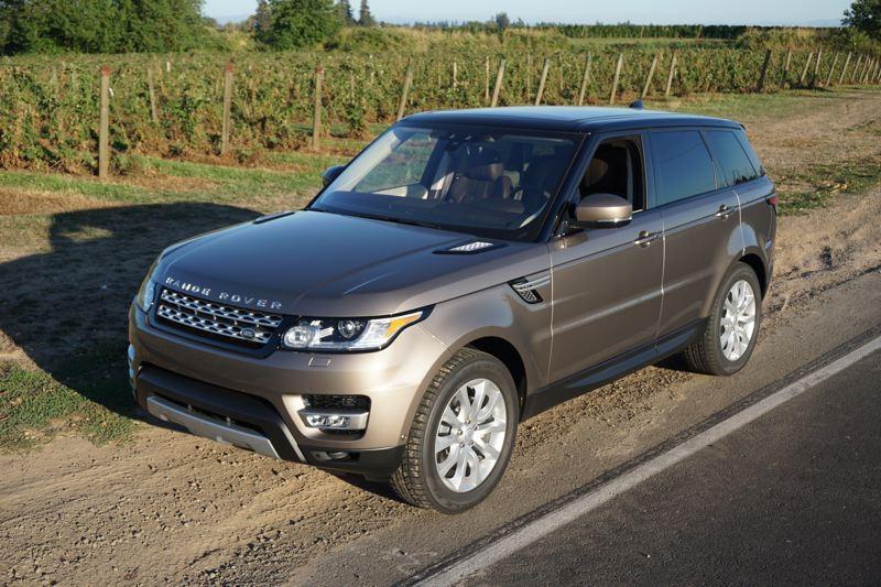 PORTLAND TRIBUNE: JEFF ZURSCHMEIDE - One of the most amazing things about a Range Rover is its off-road capability. Even when it's fitted with 20-inch wheels and high performance tires, you can take a Rover where few other SUVs can go and the Rover will make it look easy.