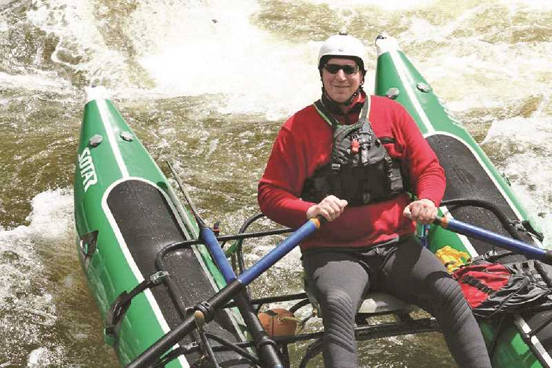 SUBMITTED PHOTO - Rafting was one of Senior's greatest passions, according to Sheriff Craig Roberts.