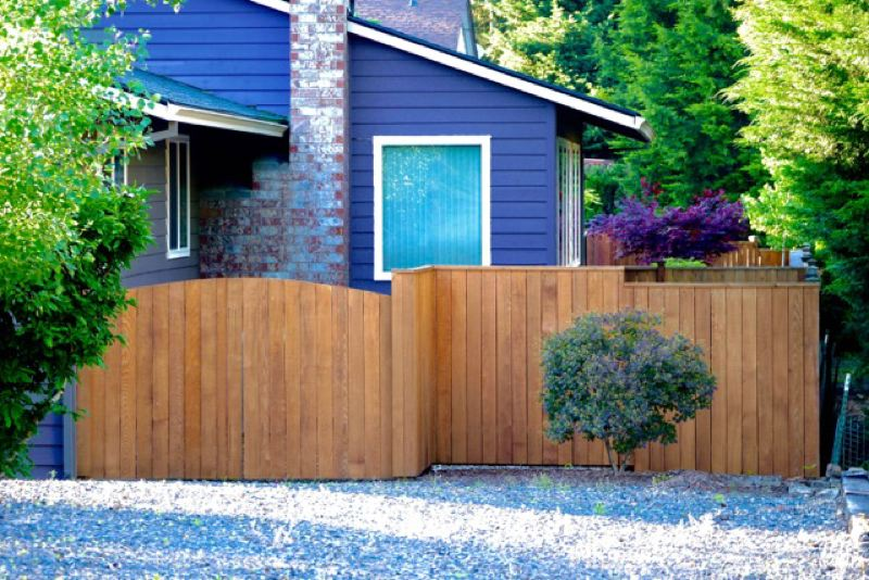 PAMPLIN MEDIA GROUP: JO OSTGARDEN  - Wood fences provide the classic Northwest look, though they require more maintenance than vinyl.