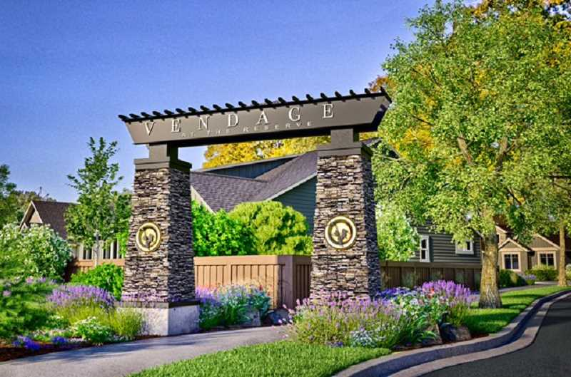 SUBMITTED GRAPHIC - Street of Dreams plans to build its 2018 showcase in Hillsboro south of Cornelius Pass Road and Tualatin Valley Highway. The neighborhood, known as Vendance at the Reserve will overlook a nearby golf course.