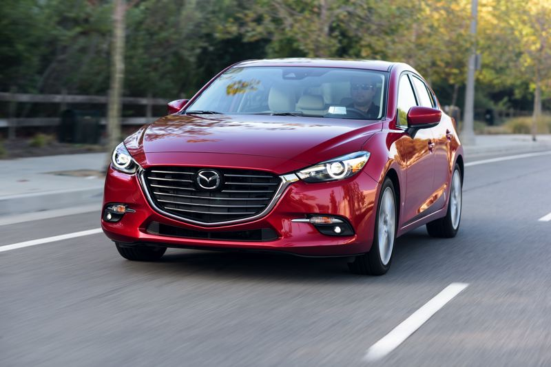 MAZDA NORTH AMERICAN OPERATIONS - The Mazda3 is sharply styled and designed to be driven, a far cry from earlier economy cars.
