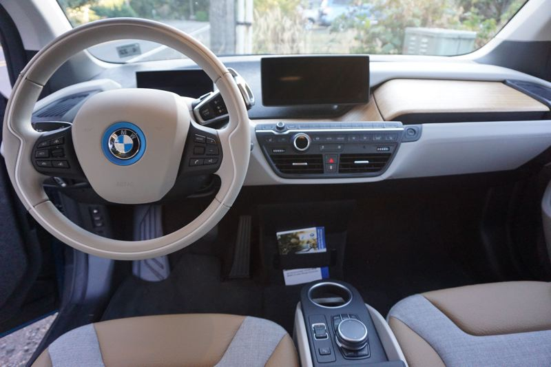 PORTLAND TRIBUNE: JEFF ZURSCHMEIDE - Despite its unconventional looks, the 2017 BMW i3 can be equipped with just about every available automotive technology.