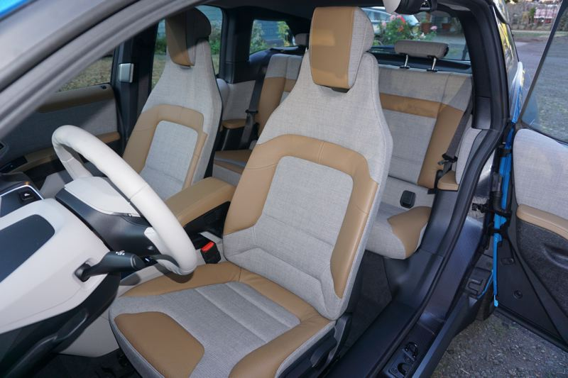 PORTLAND TRIBUNE: JEFF ZURSCHMEIDE - The seats may look strange, but they are as comfortable as those in any BMW.