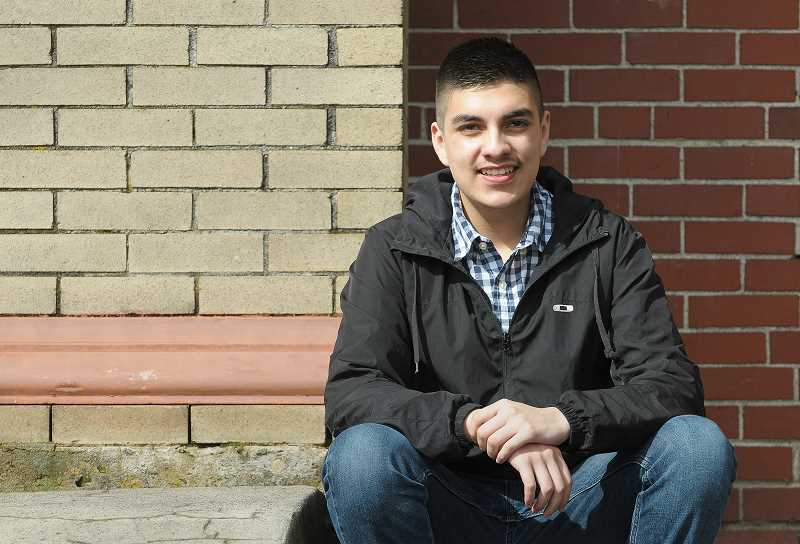 GRAPHIC FILE PHOTO - Antonio Pena Anaya graduated from Newberg High School in June. He migrated to the United States in 2003 from Ayutla, Jalisco, Mexico, with his parents and four siblings.