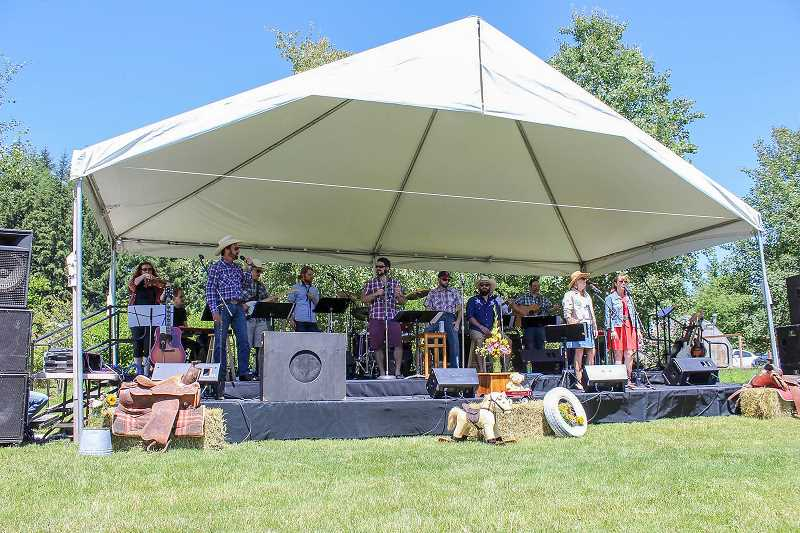 CONTRIBUTED PHOTO - Dancing through the Decaces, the Aspen Meadow Band's latest concert, will honor those who have served in the military. The free event is scheduled for Sunday, Sept. 17.