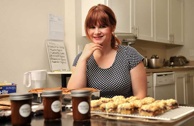 STAFF PHOTOS: VERN UYETAKE  - Susie Stewart, founder of Vintage and Cream bakery, has been baking since she was six-years-old.