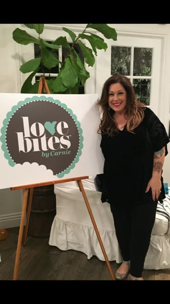 COURTESY: TIFFANY MILLER - Carnie Wilson plugged her Love Bites by Carnie product line during an appearance on the 'Real Housewives of Beverly Hills' last winter.