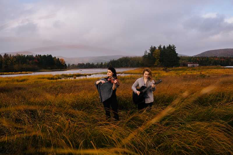 SUBMITTED PHOTO - Nova Scotian sisters Cassie and Maggie MacDonald will perform Oct. 14 as part of the Saturday Community Concert in Tualatin.