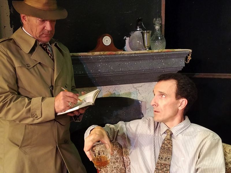 CONTRIBUTED PHOTO - 'Dial M for Murder' opens the new season for Nutz-n-Boltz Theater Company in Boring.