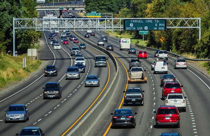 FILE PHOTO - Among the options discussed at a two-state transportation meeting in Beaverton is the potential of tolling on Oregon highways.