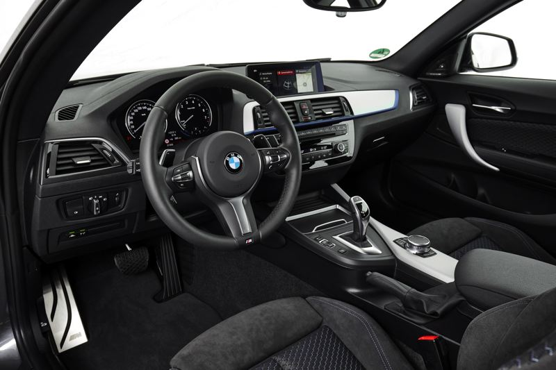 COURTESY BMW - The interior of the 2017 BMW 230i inlcudes all of the company's trademark features, including high quality materials and a sophisticated design
