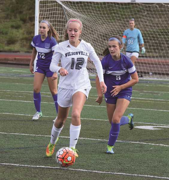 TANNER RUSS - Camryn Pettenger-Willey played a solid game in the midfield against the Grant Generals. They drew 0-0 at the sound of the final horn.