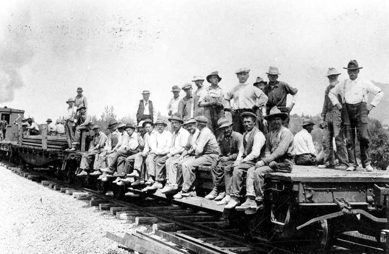 PHOTO COURTESY OF BOWMAN MUSEUM - The opening lecture this October will focus on the Prineville Railway, launched in 1918.