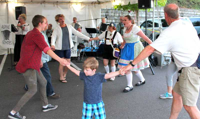 TIDINGS FILE PHOTOS - Residents will have a chance to shake a leg to music from the Alpine Echoes Band at Oktoberfest Sept. 29 and 30.