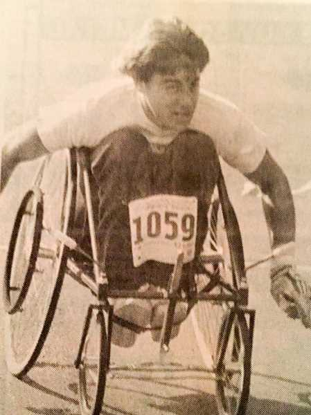 ARCHIVE PHOTO - In 1987, Bill Morrow, a member of the Portland Wheelblazers basketball team, completed the Best Dam Run in less than 40 minutes.