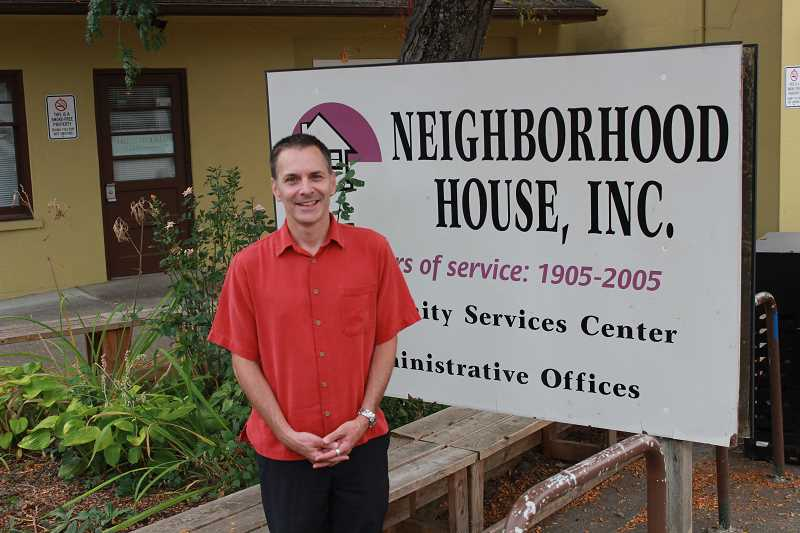CONNECTION PHOTO: COREY BUCHANAN - As the new executive director, Chris Chiacchierini hopes to help Neighborhood House adjust to prevailing trends and help foster a fresh vision.
