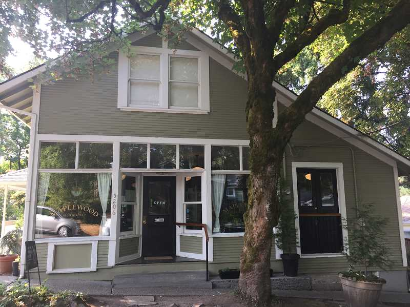 SUBMITTED PHOTO: GEORGINA YOUNG-ELLIS - Maplewood Coffee and Tea is located at 5206 S.W. Custer St.