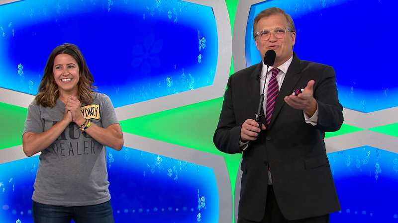 SUBMITTED PHOTOS: FREMANTLEMEDIA NORTH AMERICA - Sydney Potkowski has long been a fan of 'The Price Is Right' and lived out a dream when she appeared on the show recently.