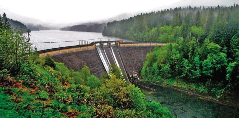 PORTLAND TRIBUNE FILE PHOTO - Portlnd's reservoir in the Bull Run Watershed.
