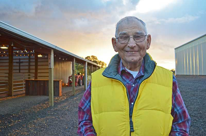 HILLSBORO TRIBUNE PHOTO: JOHN WILLIAM HOWARD - Nick Kohanes, 84, began riding with the posse in the 1960s and has ridden under five sheriffs. The posse was different 50 years ago, he said, when anyone with a horse and trailer could be called out for search and rescue operations.