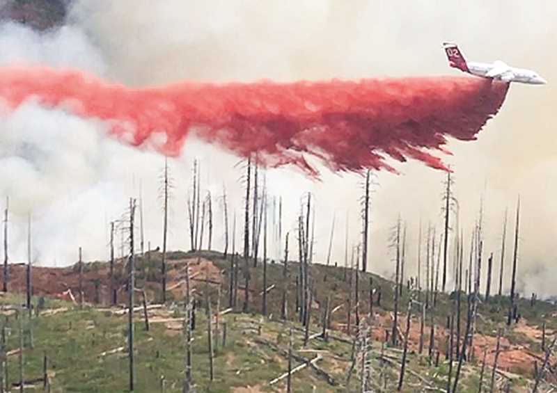 OCHOCO NATIONAL FOREST - The Desolation fire, which started in early September, grew to more than 4,000 acres as local firefighter crews waited for resources demanded by larger, higher priority fires throughout Oregon and the rest of the Pacific Northwest.