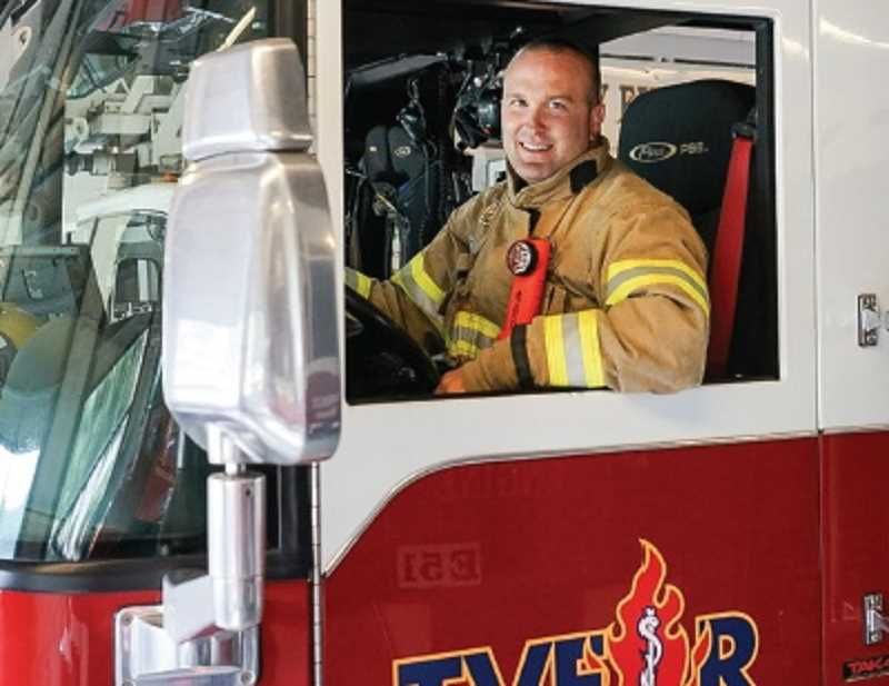 COURTESY PHOTO - Ron Morgan has worked for Tualatin Valley Fire & Rescue for more than a decade. The Hillsboro resident says the hardest part is spending time away from his family.