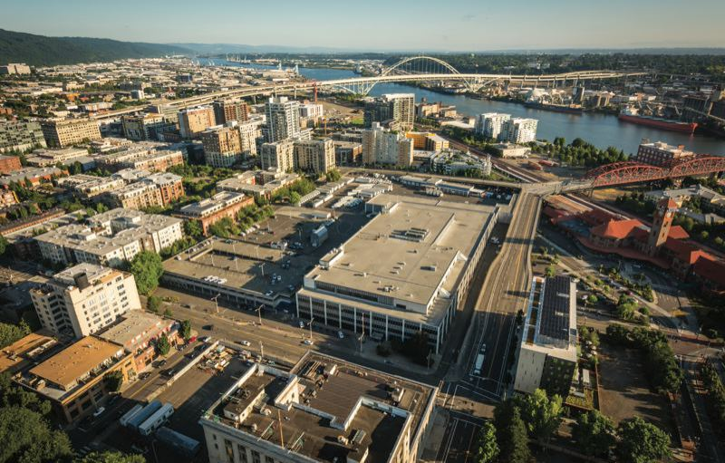 CONTRIBUTED PHOTO - Portland bought the downtown U.S. Post Office distribution center last year for redevelopment.