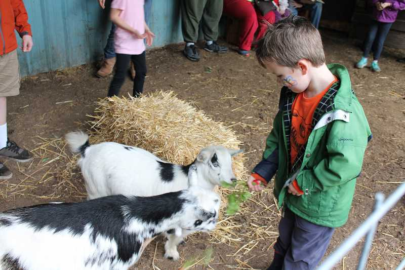 SPOKESMAN FILE PHOTO - Join the at the CREST farm in Wilsonville Oct. 8 for their fall festival.