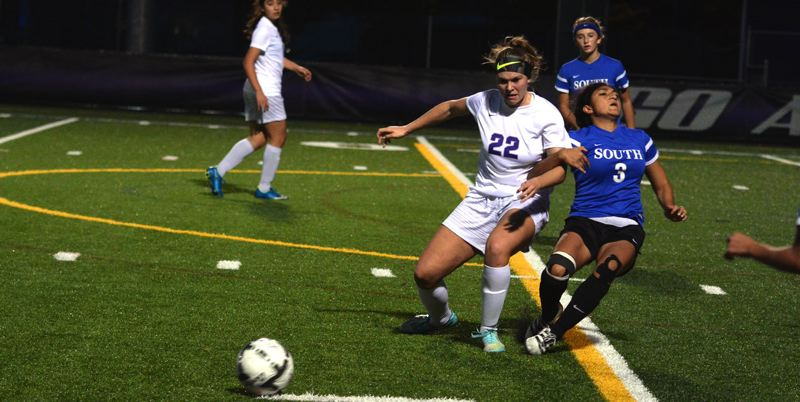 TIMES FILE PHOTO - Sunset senior Emily Wenzel and the Apollos beat Southridge 3-0 behind three Ally Thom goals last week.
