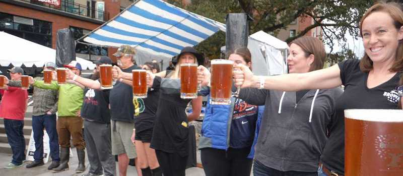 COURTESY OF THE CITY OF HILLSBORO - OrenKoFest includes a beer stein-holding contest at 4 p.m.