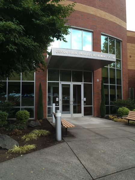 PAMPLIN MEDIA GROUP: PETER WONG - Oregon Public Employees Retirement System headquarters in Tigard. The PERS board heard a preview of 2019-21 contribution rates for member governments at its Sept. 29 meeting.