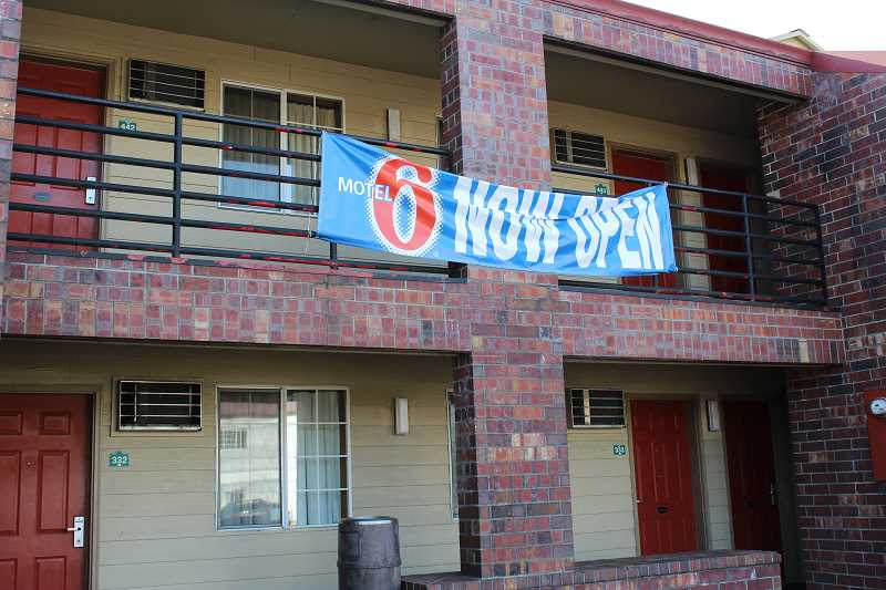 HERALD PHOTO: KRISTEN WOHLERS - Canby Country Inn is officially a Motel 6.
