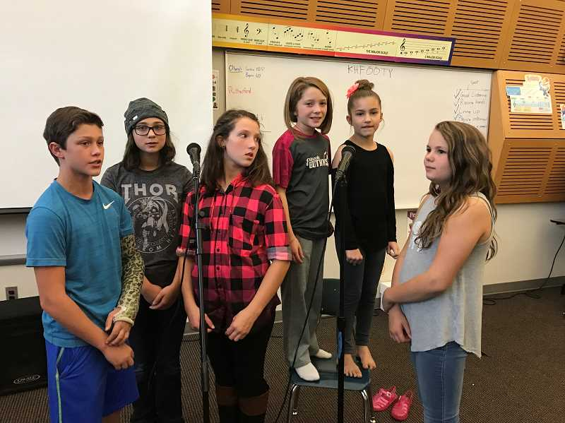 CONTRIBUTED PHOTO: ALEXANDRA CZYZEWICZ - Students from the Estacada School District will share the stage with local band The Casimir Effect during an upcoming benefit concert.