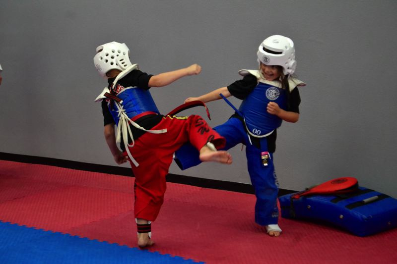 POST PHOTO: BRITTANY ALLEN - The Sandy location of U.S. World Class Taekwondo boasts 100 students.