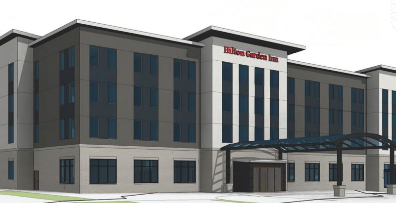 SUBMITTED PHOTO - The proposed Hilton Garden Inn hotel will be the largest hotel in Wilsonville, with nearly double the number of rooms of the Quality Inn that the Hilton will replace.