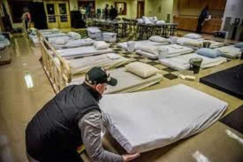 FILE PHOTO - Volunteers needed fro Beaverton's severe weather shelter.