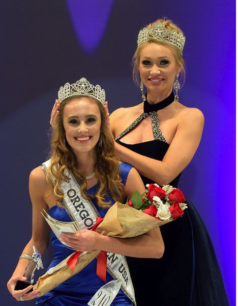 COURTESY: JERRY AND LOIS PHOTOGRAPHY - Jaycie Forrester, 16, was crowned Miss Oregon Teen USA 2018.