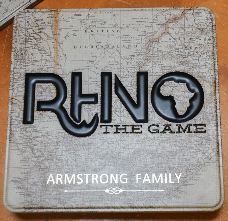 OUTLOOK PHOTO: JOSH KULLA - The sturdy metal box 'Rhino' comes in allows for custom laser engraving of customers' names.