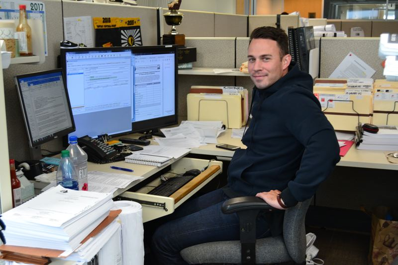 PAMPLIN MEDIA GROUP: JULES ROGERS - David Kuhnhausen, process manager, is working on projects on his plate that include Providence Park, OHSU's developments and the Multnomah County Courthouse, along with some smaller, politically sensitive projects.