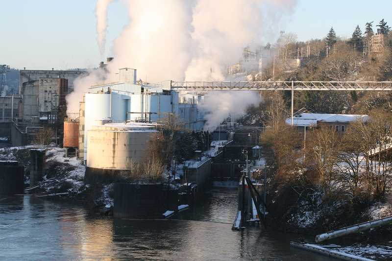 TIDINGS FILE PHOTO - A staple of West Linn's business community for 128 years, the West Linn Paper Company will shut its doors after unexpected events led to a reduction in pulp supply.