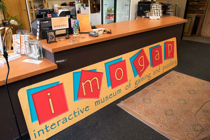 TIMES PHOTO: JAIME VALDEZ - The Interactive Museum of Gaming and Puzzlery (IMOGAP) is now open in King City.