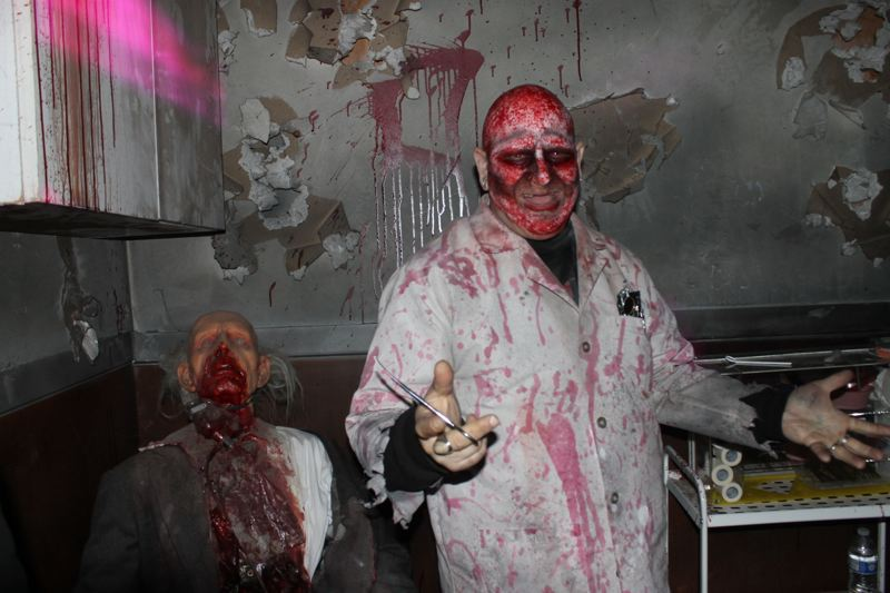 TRIBUNE PHOTO: LYNDSEY HEWITT - The Fear PDX Haunted House Scream Park is full of scares.