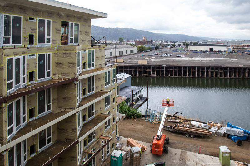 TRIBUNE FILE PHOTO   Residential Construction Near Portlandu0027s Waterfront  Continues As The Economy Hums Along.