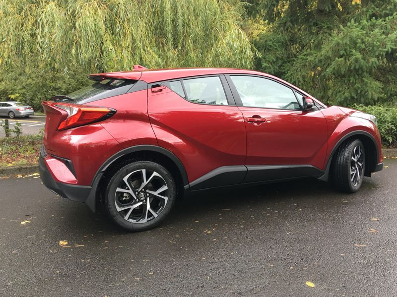 PORTLAND TRIBUNE: JEFF ZURSCHMEIDE - There is nothing boxy or boring about the 2018 C-HR, which is a great leap forward for Toyota in general.
