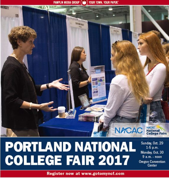 (Image is Clickable Link) NACAC College Fair 2017