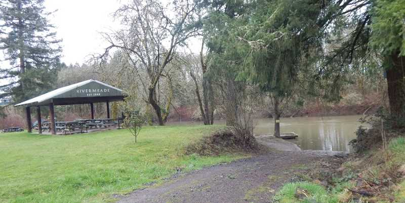 REGAL COURIER FILE PHOTO - The private Rivermeade Community Club Park on the Willamette River has been around since 1953 and is only open to Rivermeade residents who pay annual dues, which about three-quarters of them do.
