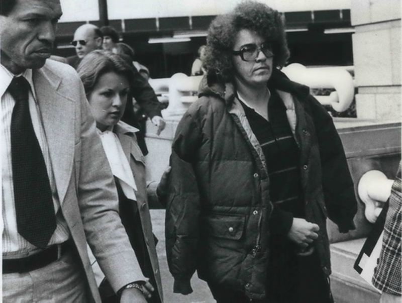 COURTESY: NW FILM CENTER - The documentary by Portland-based artist Julie Perini called 'The Gentleman Bank Robber: The Story of Butch Lesbian Freedom Fighter Rita Bo Brown' tells the story of Brown, who was from rural Oregon.